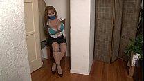 Bound and Gagged -Busty Alexis Taylor Bound in the Closet Vorschaubild