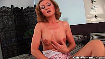 Grandma with cute titties gets fucked by guy half her age Preview