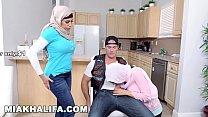 8918 MIA KHALIFA - Featuring Big Tits MILF Julianna Vega... With Cum Shot! preview