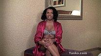 Ebony girl interviewed for yanks.com