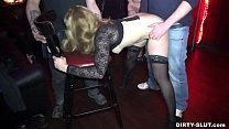 Naughty wife Nicole gangbanged by everybody at a club Vorschaubild