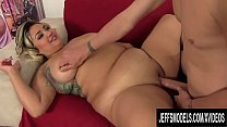 Horny Latina Plumper SinFul Celeste Gets Her Shaved Pussy Pummeled Hard