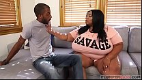 Ebony Mom Cotton Candi Seduces Daughters Boyfriend John Long