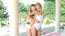 Nancy A and Kira Parvati in Wonderful wakeup le...