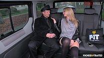 VIP SEX VAULT - Blondie Karina Grand Gets Multiple Cummed By Her Chaffeur's Thumb