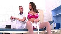 alex d porn - busty nurse sensual jane gets laid by doc in clinic thumbnail