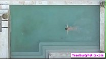 Poolside Breast Stroke with Annika Evefree vid-01 from Titty Attack