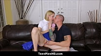 Cute Virgin Teen Stepdaughter Creampie From Daddy Preview