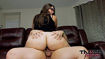 Big Ass MILF Madisin Lee fucks young cock with Butt plug preview image