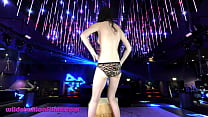 Chinese Teen Dances Topless In A Night Club Sta