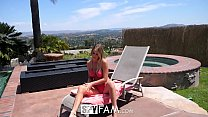celebrity boy porn ◦ SpyFam Step sister Alexis Adams caught step brother spying by the pool thumbnail