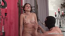 BDSM Brunette With Small Tits Hard Corrected Fo