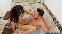 9523 Naughty America Boss Cytherea fucking in the bathroom with her tits preview
