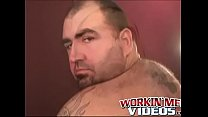 Old Hairy Dude Jacks Off Hairy Dick And Unloads