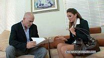 Office slut Allie Haze bangs the boss pornhub video