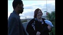 A ginger SSBBW gets BBC IR