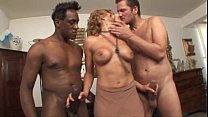 Nadia Macrì fucks two cocks Thumbnail