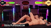 Hot Girl With Huge Tits Gabbie Arena Takes A Nice Fuck A Big Load On Her Face - Digital Playground