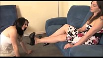 Lindsey High Heel Licking, Foot Gagging, and Foot Worship Preview