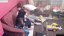 16445 Spy camera records couple fucking in the living room. JAV245 preview