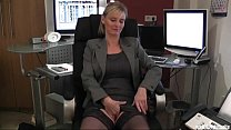 Dirty blond Secretary want to have fun - 9Club.Top