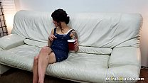 19251 Shy Tia Mor Fucks On First Casting preview