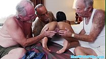 Teen dickriding reversecowgirl with oldies
