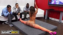 BANGBROS - Kelsi Monroe Performs A Strip Show For Her Biggest Fan, Then Sucks His Dick