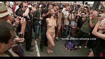 Naked slut walked and humiliated pornhub video