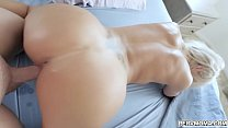 Super hot mom lets stepson goes in deep in her milf pussy!