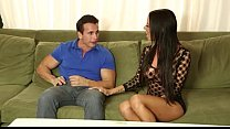 1 amazing babe  in luxury lingerie milking und rie milking under the table 2015