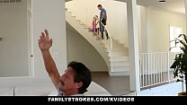 FamilyStrokes - Sexy Housewife Fucks Stepson image