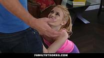 FamilyStrokes - Sexy Housewife Fucks Stepson thumbnail