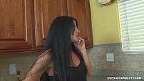 Hot Housewife Jacks Off The Gardener video