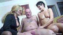 Real German Couple In Female Casting with Big Tit MILF Vorschaubild