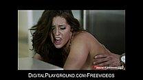 Stunning blond bombshell Alexis Texas bounces her ass on hard cock