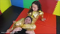 Bella s Golden Squeeze - Headscissor Mixed Wres...