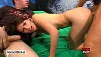 Beautiful Skinny MILF Susana takes it deep in the Ass - German Goo Girls Vorschaubild