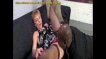 Black Sucked by Mature Blonde