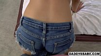 11046 Daughter begging dad to creampie her preview
