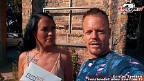 EroCom Date - Deutsche Latina Milf wird abgeschleppt bei outdoor Sex Casting Blinddate und dann gefickt