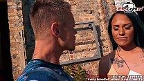 EroCom Date - Deutsche Latina Milf wird abgeschleppt bei outdoor Sex Casting Blinddate und dann gefickt Vorschaubild