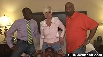 Slut Savannah - Anaconda and friends video