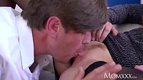 MOM Hot Scottish blonde Georgie Lyall sloppy blowjob and doggy - xxx videohd thumbnail