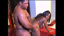 Black stud fucks ebony bitch doggystyle pornhub video