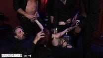 BurningAngel Lola Fae's FIRST GANGBANG is Rough & Hot as Hell Vorschaubild