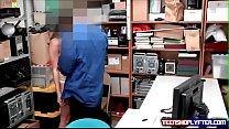 Perv Security Guard Bangs Shoplifiting Teenager Into Next Week