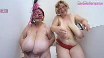 two older ladies swing massive tits Vorschaubild