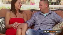 Swingers feel like in a blind date. Thumbnail