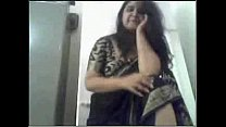 Indian aunty stripping Image